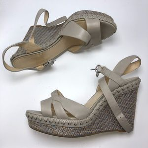 Enzo Angolini grey wedge
